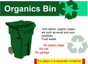 green bin yard debris