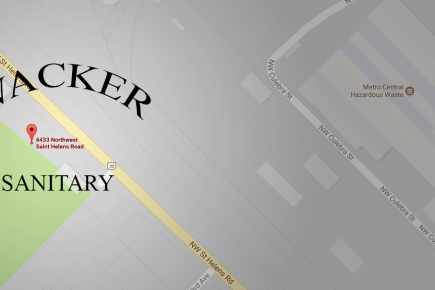 Wacker Sanitary Location