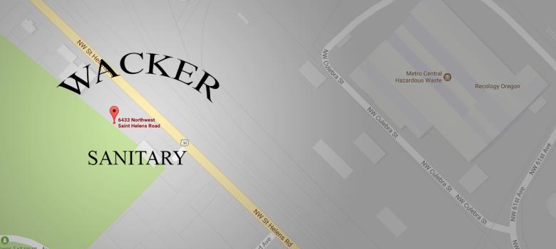 Wacker Sanitary Location